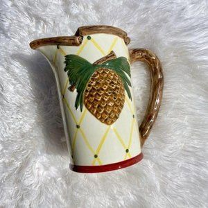 NWOT Pineapple Becca Pitcher Signature Collection